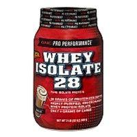 GNC Whey Isolate 28 Powder Chocolate 2Lb