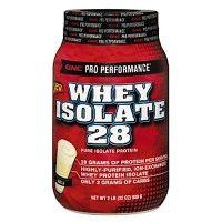 GNC Whey Isolate 28 Powder Vanilla (2Lb)