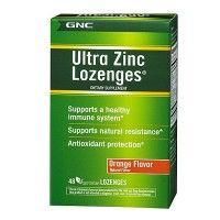 GNC Ultra Zinc (48 Vegetarain Lozenges)