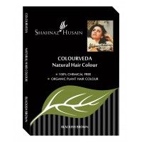 Shahnaz Husain Colourveda Natural hair Colour + Free Applicator, Gloves & shower Cap With This Pack