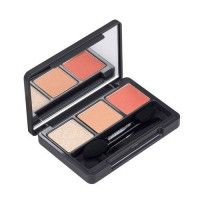 The Face Shop Triple Eye Shadow - 01 Orange Nuance