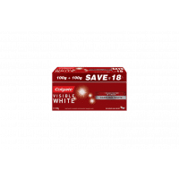 Colgate Visible White Toothpaste Pack of 2 (Save Rs. 18/-)