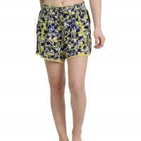 Enamor E054 Cotton Lounge Shorts - Multi-Color