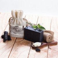 Nykaa Soap Story Charcoal & Green Tea Handcrafted Bathing Bar