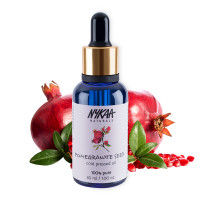 Nykaa Naturals Pure Cold Pressed Pomegranate Seed Carrier Oil