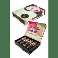 """SUGAR Smudge Me Not """"All Day"""" Liquid Lipstick Gift Box"""