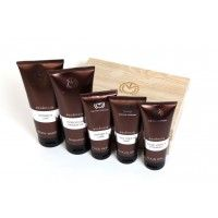 The Man Company Essencia Men'S Grooming Kit Set Of (Face Wash, Body Wash, Hair Gel, Shave Gel and Shampoo)