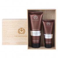 The Man Company Coffee Addiction Face Wash & Shampoo - Set Of 2