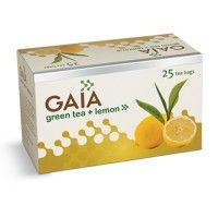 Gaia Green Tea Lemon