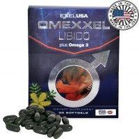ExxelUSA Omexxel Libido Plus Omega 3 Dha Epa