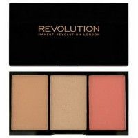 Makeup Revolution Iconic Pro Blush, Bronze and Brighten