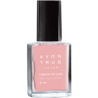 Avon True Color Pro+ Nail Enamel - French Tip Lilac