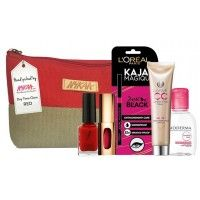 Nykaa Day Time Glam Red Pouch - Red