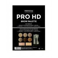Freedom Pro HD Brow Palette Fair Medium