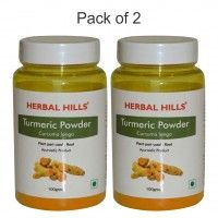Herbal Hills Turmeric Powder - Pack Of 2