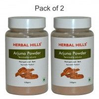 Herbal Hills Arjuna Powder - Pack Of 2