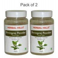 Herbal Hills Bhringraj Powder - Pack Of 2