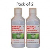 Herbal Hills Diabohills Herbal Shots (Pack of 2)