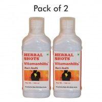 Herbal Hills Vitomanhills Herbal Shots (Pack of 2)