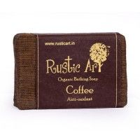 Rustic Art Organic Coffee Soap