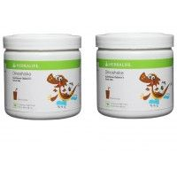 Herbalife Dinoshake Children's Nutritional Drink Mix Chocolicious - 500 grms, Pack of 2
