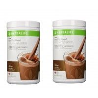 Herbalife Formula 1 Nutritional Shake Dutch Chocolate - Pack of 2