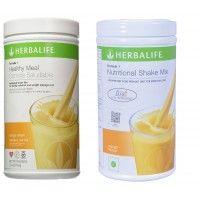 Herbalife Formula 1 Nutritional Shake Mix  Orange Cream & Mango - Pack of 2