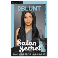 BBLUNT Salon Secret High Shine Creme Hair Colour - Black Natural Black 1 (Off Rs.26)