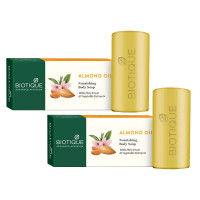 Biotique Almond Oil Nourishing Body Soap - Pack of 2