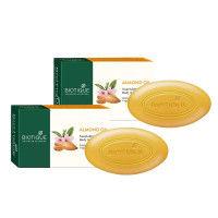 Biotique Bio Almond Oil Nourishing Body Soap - Pack of 2