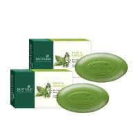 Biotique Bio Basil & Parsley Revitalizing Body Soap - Pack of 2