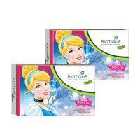 Biotique Disney Princess Cinderella Almond Nourishing Soap - Pack of 2
