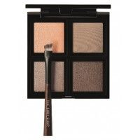 The Body Shop Down To Earth Eyeshadow Quad Brown