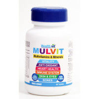 HealthVit Mulvit Multivitamins And Minerals (60 Tablets)