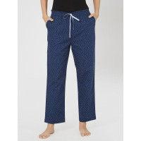 Mystere Paris Classic Woven Pyjama - Blue