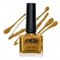 Nykaa Gold Rush Nail Lacquer
