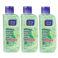 Clean & Clear Morning Energy Combo - Purifying Apple