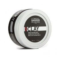 L'oreal Professionnel Homme Clay Strong Hold Matt Clay