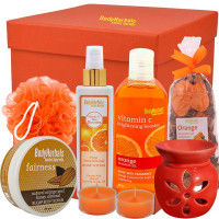 BodyHerbals Energising Orange Essentials Spa Gift Hamper