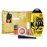 Maybelline New York Instaglam Christmas Special Pouch - Coral Chic