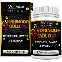 Morpheme Kohinoor Gold Plus 500mg Extract - 90 Veg Caps.