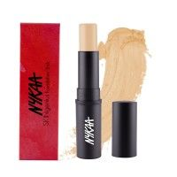 Nykaa SKINgenius Foundation Stick Conceal Contour & Corrector - Natural Buff 02
