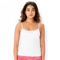 PrettySecrets Cotton Top - White