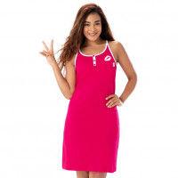 Prettysecrets Cotton Nightdress - Pink
