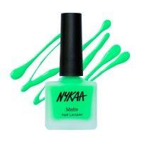 Nykaa Matte Nail Enamel - Key-Lime Slush