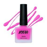 Nykaa Matte Nail Enamel - Pink Lemonade