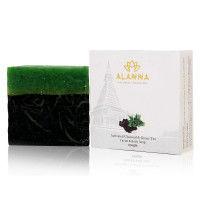 Alanna Activated Charcoal & Green Tea Facial & Body Soap
