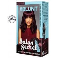 BBLUNT Salon Secret High Shine Creme Hair Colour - Wine Deep Burgundy 4.20