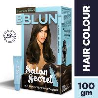 BBLUNT Salon Secret High Shine Creme Hair Colour - Coffee Natural Brown 4.31