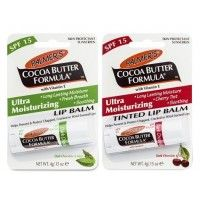 Palmer's Cocoa Butter Formula Lip Balm - Dark Chocolate With Mint & Dark Chocolate With Cherry